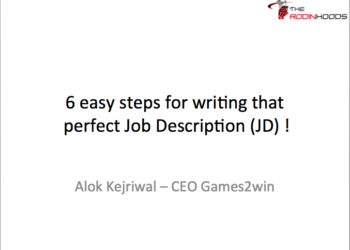 6 Easy Steps to write that perfect Job Description (JD)