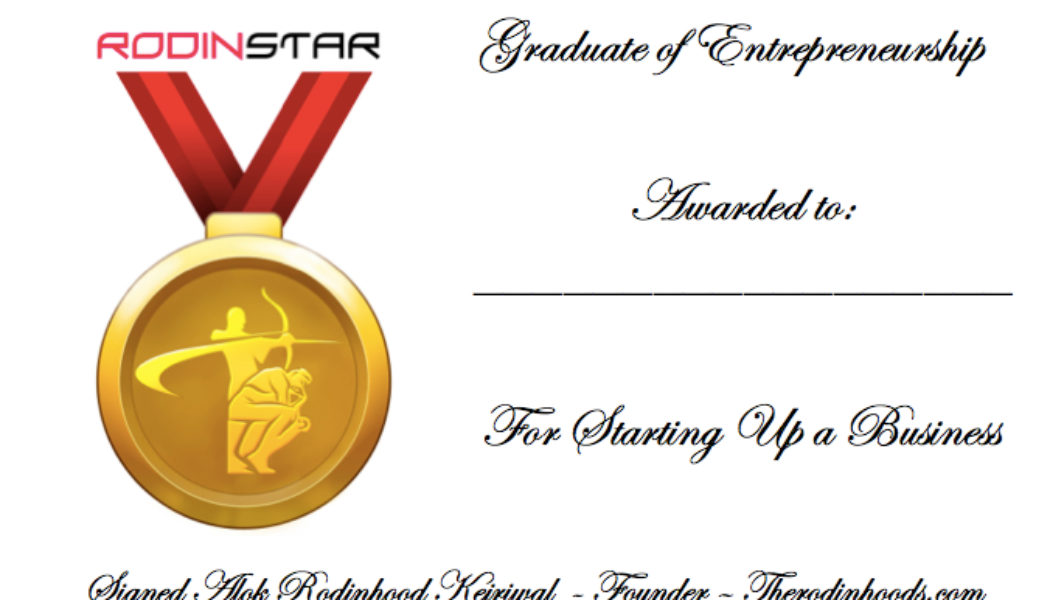 Graduate of Entrepreneurship (G.E)